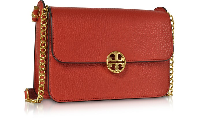 c7d97e78a77c6 Pebble Leather Chelsea Crossbody Bag - Tory Burch. £328.00 Actual  transaction amount