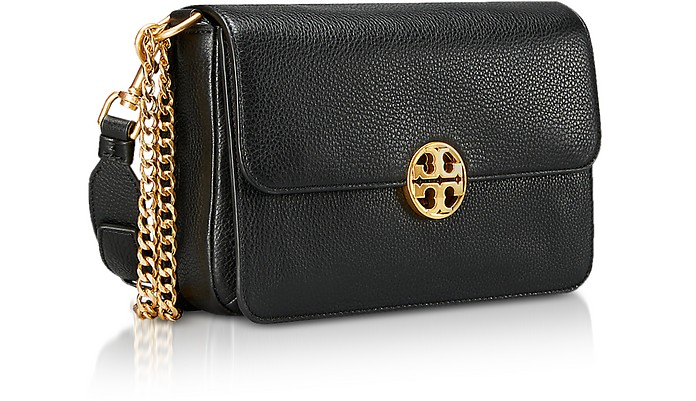 6fa0d7922 Black Leather Chelsea Convertible Shoulder Bag - Tory Burch. Sold Out