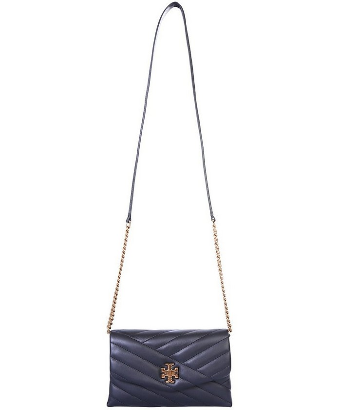 Black Quilted Kira Shoulder Bag - Tory Burch