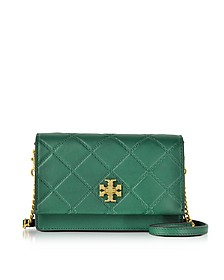 Georgia Leather Turn-Lock Mini Crossbody Bag - Tory Burch