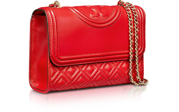 ef8f6d7bec6 Fleming Quilted Leather Small Convertible Shoulder Bag - Tory Burch.  £425.00 Actual transaction amount