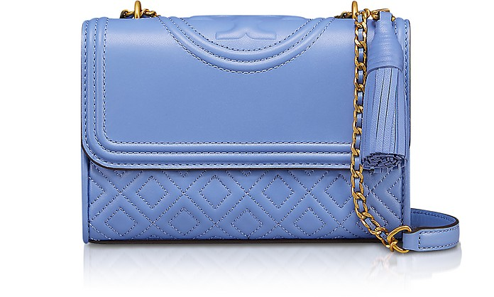 Fleming Quilted Leather Small Convertible Shoulder Bag - Tory Burch