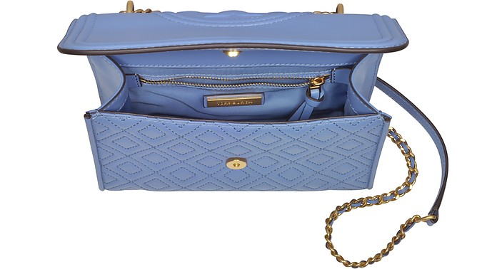 e82466a47b0e Facebook · Twitter · Pinterest · Share on Tumblr. Fleming Quilted Leather  Small Convertible Shoulder Bag - Tory Burch. Sold Out
