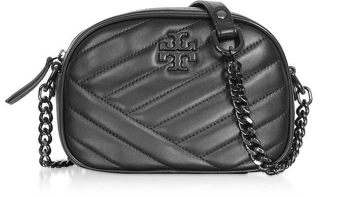 Kira Chevron Small Camera Bag - Tory Burch