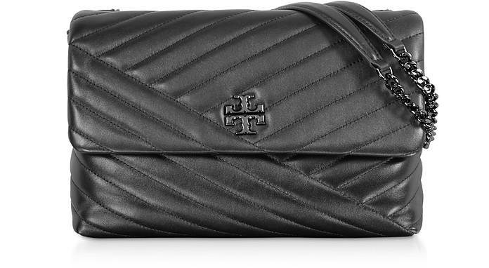 Kira Chevron Convertible Shoulder Bag - Tory Burch