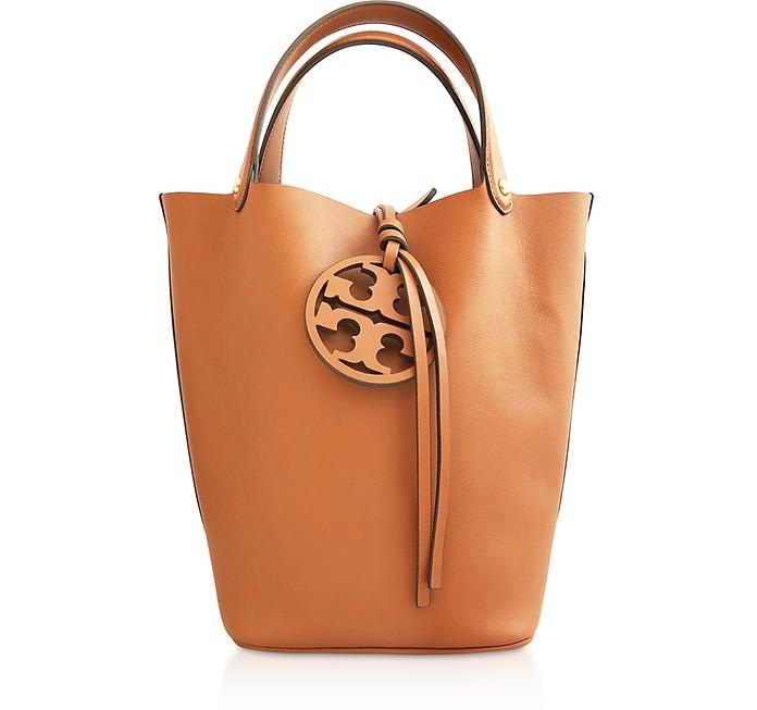 Aged Cammello Miller Bucket Bag - Tory Burch