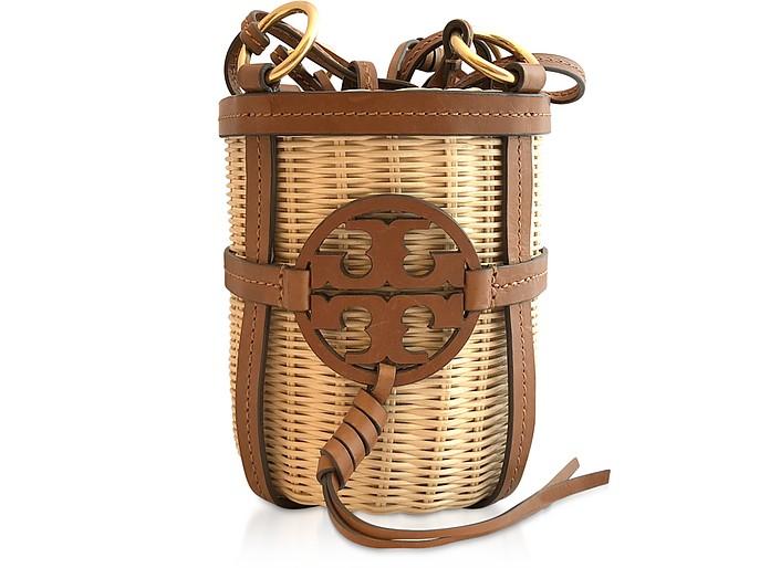 Miller Wicker Bucket Bag - Tory Burch