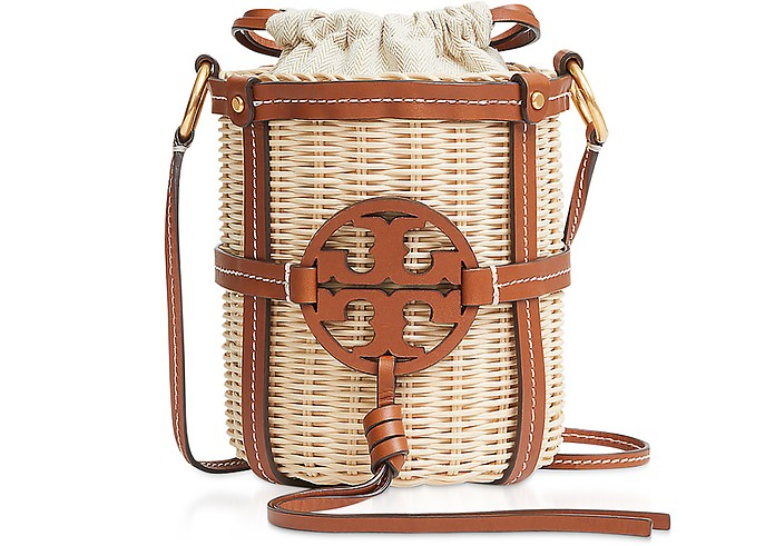 Miller Wicker Bucket Bag - Tory Burch