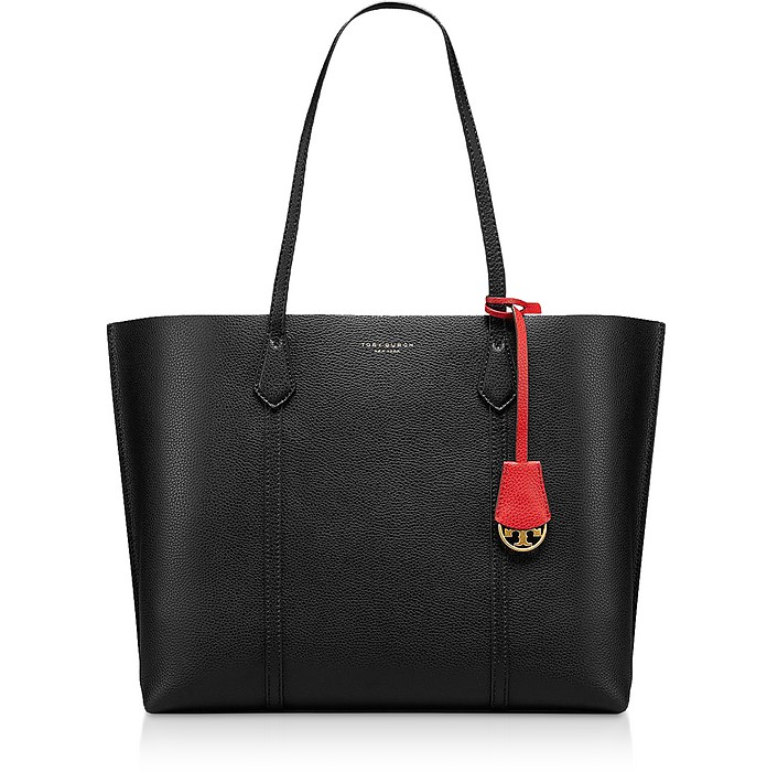 Black Perry Triple-Compartment Tote - Tory Burch