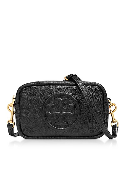 Perry Bomb Zip Borsa con Tracolla in Pelle - Tory Burch