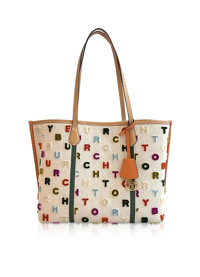 Perry Fil Coupe Triple-Compartment Tote - Tory Burch