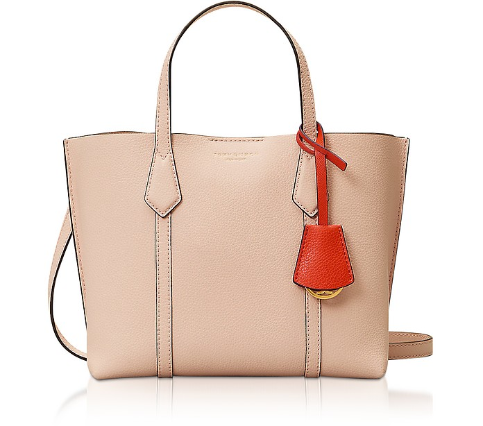 Perry Small Shopper in Pelle - Tory Burch