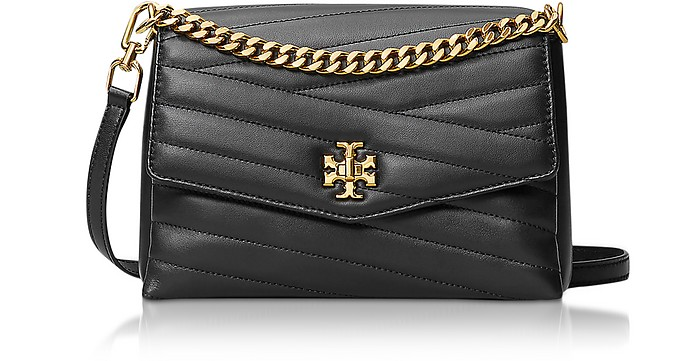 Kira Chevron Cross-Body Bag - Tory Burch