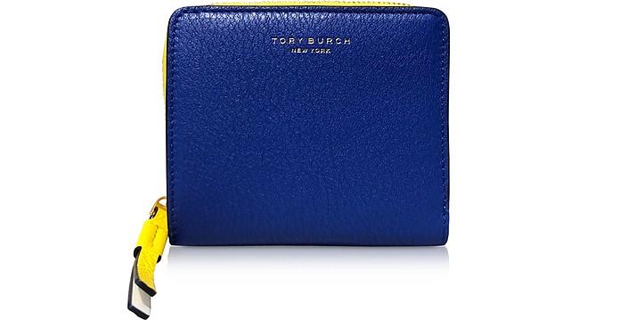 Perry Color-Block Bi-Fold Wallet - Tory Burch