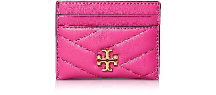 Kira Chevron Porte-Cartes - Tory Burch