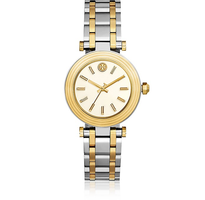 The Classic T Two Tone Women's Watch - Tory Burch