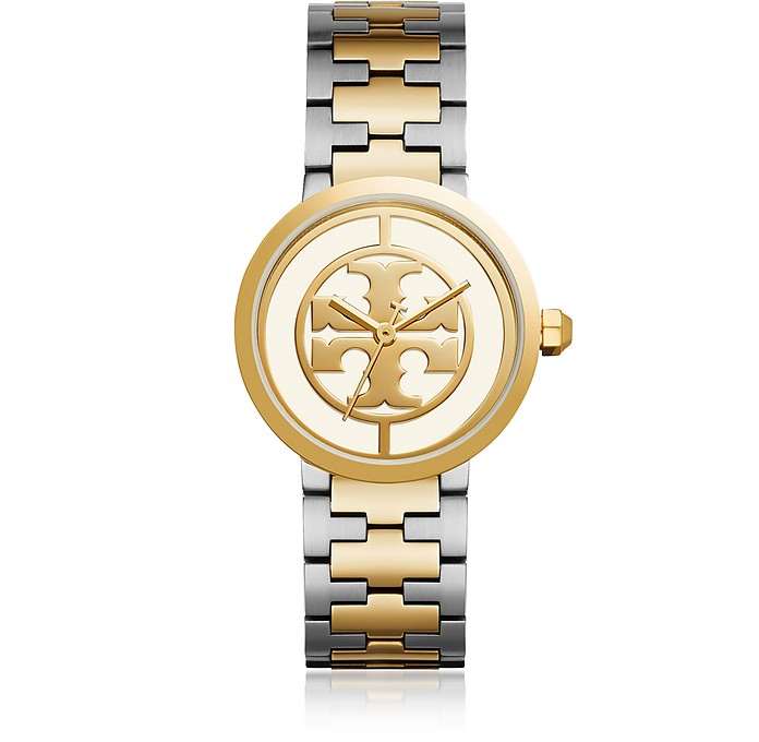 The Reva Two Tone 36mm Women's Watch - Tory Burch