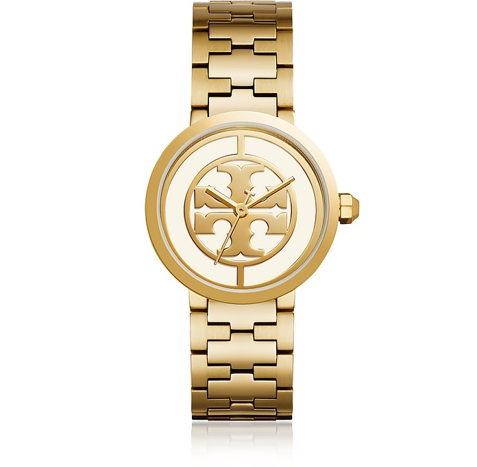 The Reva Gold Tone 36mm Women's Watch - Tory Burch