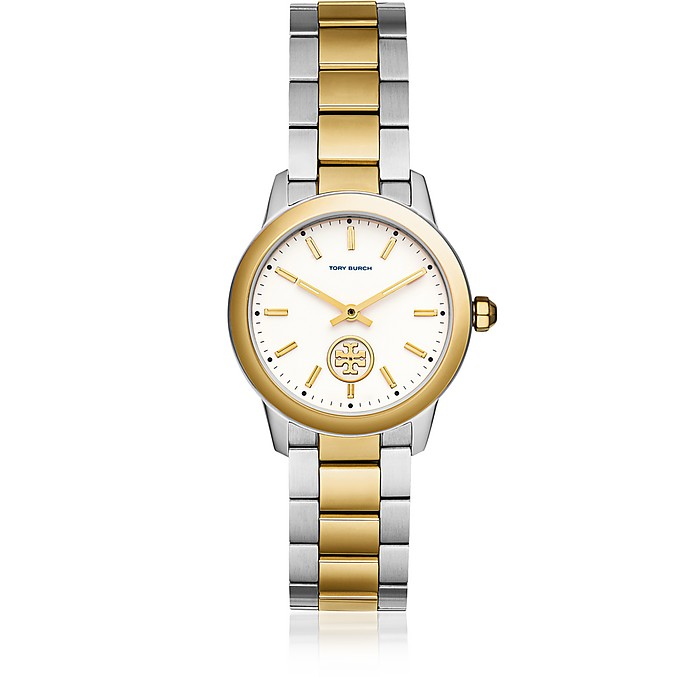 TBW1306 The collins Two Tone 32mm Women's Watch - Tory Burch
