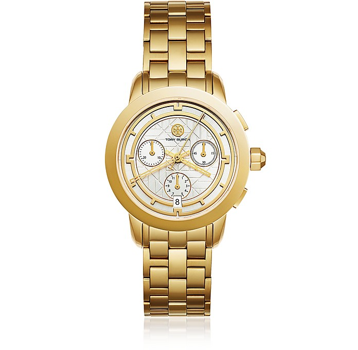 TBW1032 The Tory Gold Tone Chronograph Women's Watch - Tory Burch