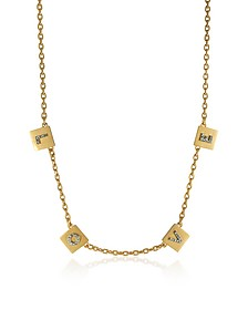Love Message Delicate Choker Necklace - Tory Burch