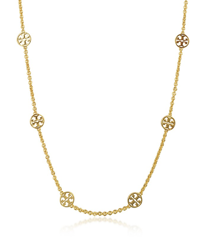 Delicate Logo Necklace - Tory Burch