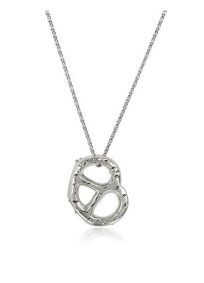 Pretzel Pendant Necklace - Tory Burch
