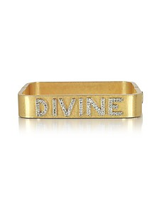 Divine Message - Bracelet en Laiton Or  - Tory Burch