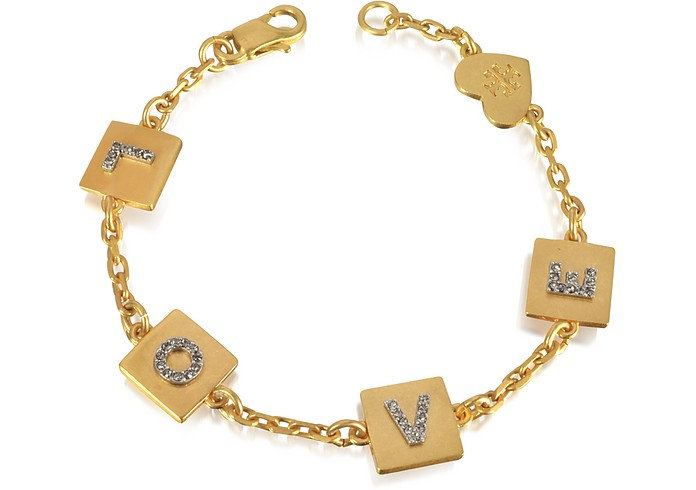 Love Message Delicate Chain Bracelet - Tory Burch