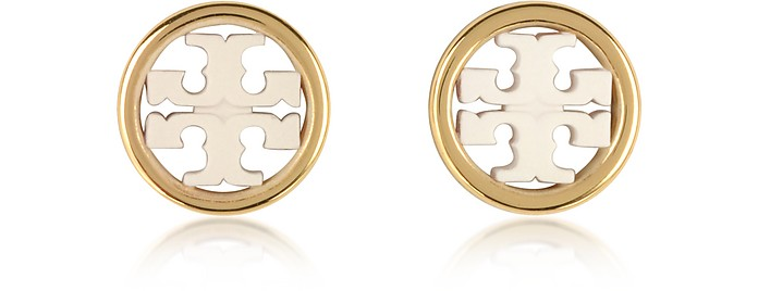 Miller Circle-Stud Earrings - Tory Burch