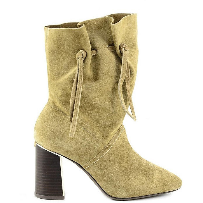 Sand Suede Women's Boots - Tory Burch