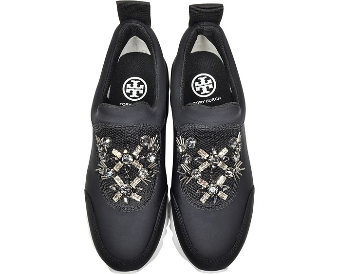 3acd01e36 Rosas Black Neoprene Embellished Runner - Tory Burch. AU 516.25 Actual  transaction amount