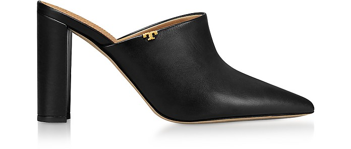 Perfect Black Penelope 90mm Mules - Tory Burch