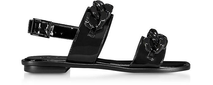 b32ceb29c31 Tory Burch Perfect Black Adrien Sandals 5 US at FORZIERI Australia