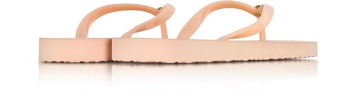 Flip Flop in Gomma Perfect Blush con Logo Grafico Tory Burch 5 (35 EU) ZOcbf8J
