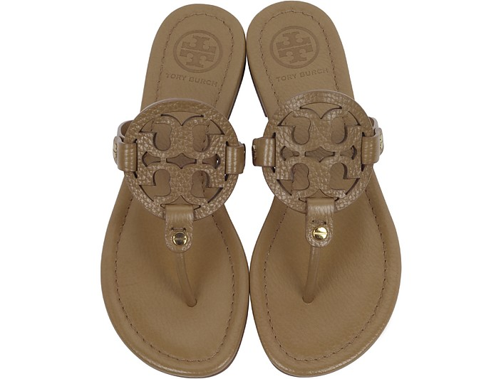 d94079d09 Miller Royal Tan Leather Sandal - Tory Burch.  117.00  195.00 Actual  transaction amount