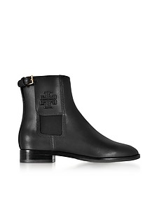 Wyatt Black Leather Bootie - Tory Burch / トリー バーチ