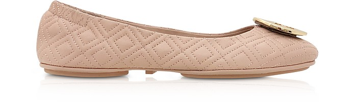 e96c8ca4b2d Tory Burch Goan Sand Quilted Nappa Leather Minnie Ballerinas 6 US at ...