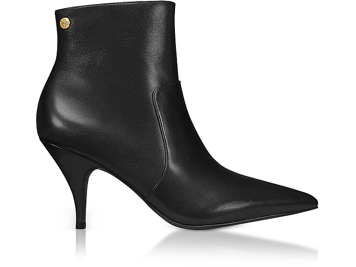 Black Georgina Tall Booties - Tory Burch