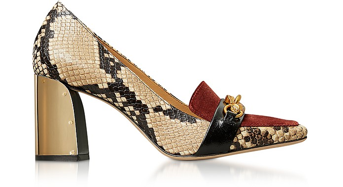 Desert Roccia Jessa 75MM Pumps - Tory Burch