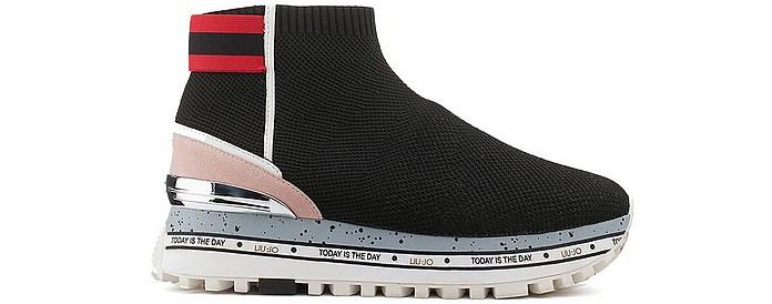 Alexa Multicolor Maxi Platform Sock Sneaker  - Liu Jo / リュージョー