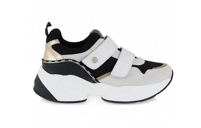 White Women's Jog Sneakers - Liu Jo / リュージョー