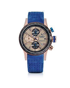 Admiral Leather Chronograph Men's Watch - Strumento Marino