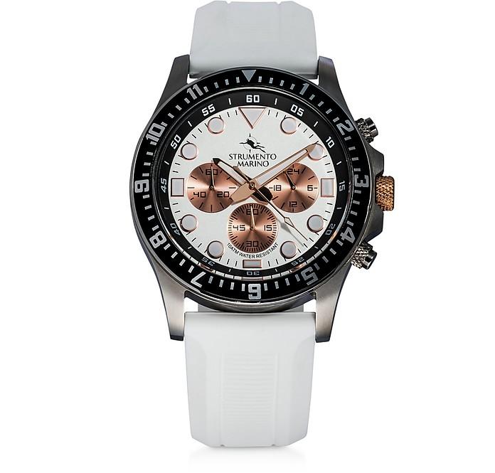 Typhoon Stainless Steel Watch - Strumento Marino