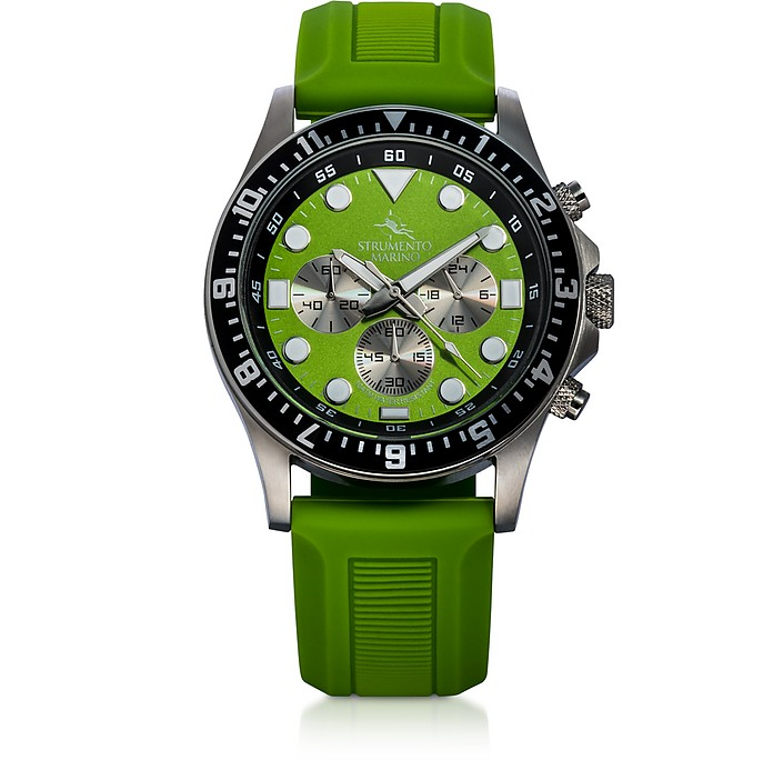 Typhoon Stainless Steel Watch - Strumento Marino