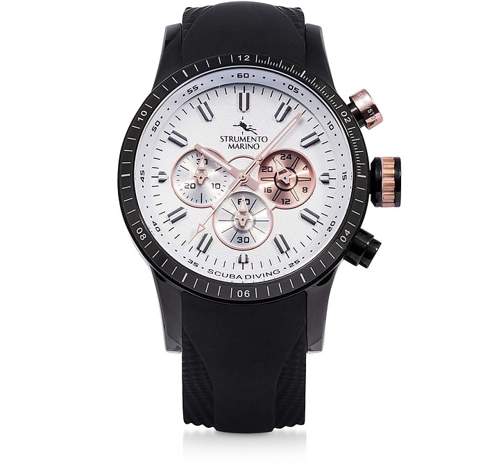 Missouri 2 Chronograph Stainless Steel Watch - Strumento Marino