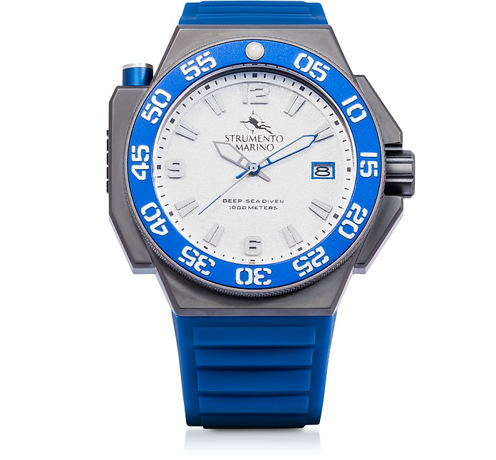 Abisso 1000 Meters Scuba Stainless Steel Watch - Strumento Marino