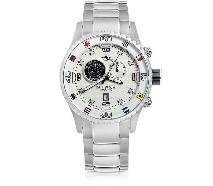 Porto Cervo Stainless Steel Men's Watches w/ Butterfly Clasp - Strumento Marino