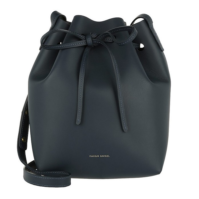 Mini Bucket Bag Blue - Mansur Gavriel / マンサー ガブリエル