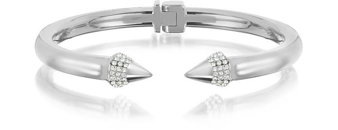 Silver Plated Mini Titan Crystal Bracelet - Vita Fede